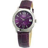 ORIENT 璀璨光彩時尚機械女錶(紫/36mm) FER2E005V
