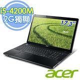 Acer E1-772G 17.3吋 i5-4200M 2G獨顯 1TB Win8.1 強效筆電