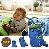 【Angelala】兒童可愛動物造型睡袋(恐龍款)