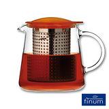 【Finum】玻璃泡茶控制壺800ml(琥珀)