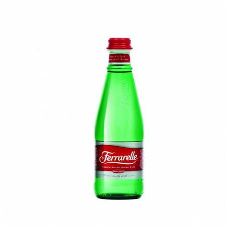 義大利法拉蕊Ferrarelle天然氣泡礦泉水(330mlx24瓶/箱)