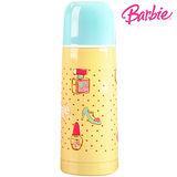 芭比Barbie 甜美芭比保溫瓶350ml-藍黃