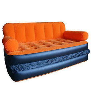 TreeWalker 三色bestway 多功能休閒雙人充氣沙發/豪華懶人沙發 含充氣外出組 長188x寬152x厚64cm