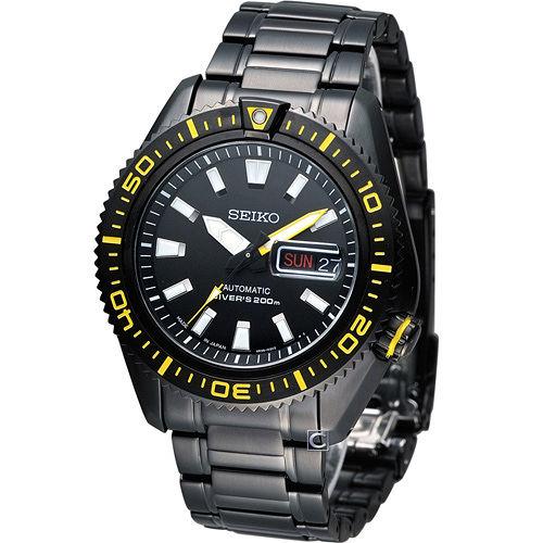 精工 SEIKO Mechanical 專業潛水運動機械錶 4R36-02Z0SD SRP499J1
