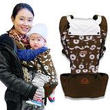 【LOG樂格】 Ubela 多功能嬰兒腰凳揹帶 -咖啡色