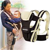 【LOG樂格】Ubela 多功能雙肩嬰兒揹帶 - 淺卡其