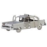 《 Tenyo 》金屬微型模型拼圖 TMN-06 紐約計程車