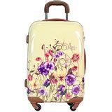 【A.ONE】花漾情緣PC輕量24吋行李箱