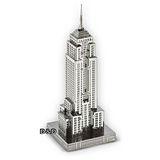 《 Tenyo 》金屬微型模型拼圖 TMN-08 帝國大廈