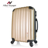 【Allez Voyager】旅遊精靈24吋PC輕量行李箱(土豪金)