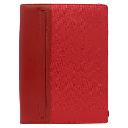 fILOFAX  格瑞菲克系列 A4拉鍊經理夾-紅色