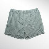 LACOYA 天絲緹花男寬鬆平口褲(3F308-5 灰綠)*3件組