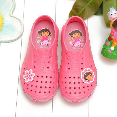 【童鞋城堡】朵拉Dora超輕量洞洞懶人鞋DR87028
