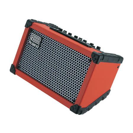 【ROLAND 樂蘭】CUBE Street 街頭表演多功能立體聲擴大音箱 / 紅色
