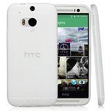 HTC One M8 超耐塑晶漾高硬度 清水套 背蓋