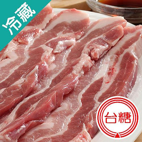 台糖去皮五花肉條1盒 豬肉  300g ~5%盒