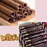 Wasuka 爆漿捲心酥-巧克力威化捲 600g*4包組