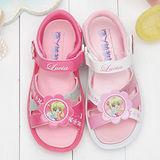 【童鞋城堡】真珠美人魚典雅女童涼鞋台灣製PI4256