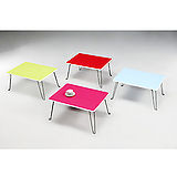 【空間生活】便利小桌(綠*紅*藍*桃紅)