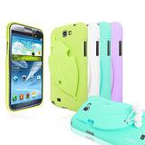 MOBC Samsung NoteII N7100 Leaf TPU 葉子造型保護套