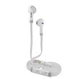 SEEHOT嘻哈部落 入耳式立體聲有線耳機麥克風(SH-MHS800) - 白色