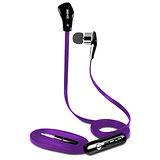 SEEHOT嘻哈部落 入耳式立體聲有線耳機麥克風(SH-MHS680) - 紫色