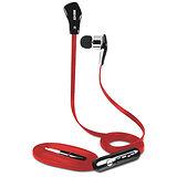 SEEHOT 嘻哈部落 入耳式立體聲有線耳機麥克風(SH-MHS680) - 紅色