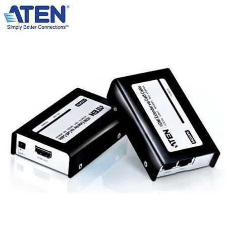 ATEN VE800 Cat 5e/6 HDMI訊號延長器/8段同步化調整開關