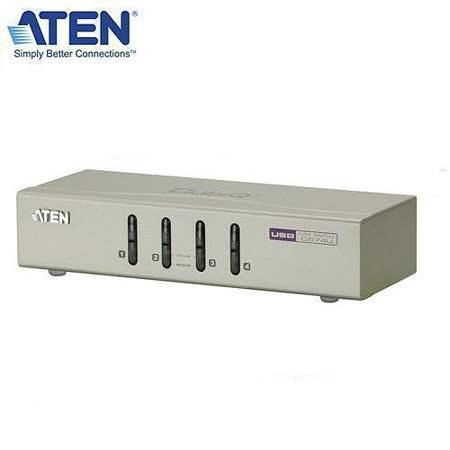 ATEN CS74U 4埠桌上型切換器(2048x1536/USB/SP/麥克風)