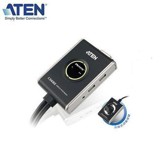 ATEN CS682 2埠KVM切換器 (DVI / USB / 喇叭/麥克風)