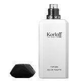 Korloff 白鑽神話 男性 (IN WHITE) 淡香水 50ml (加贈品牌小香隨機款*1)