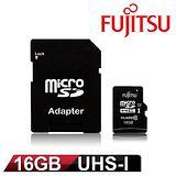 Fujitsu 富士通 16GB UHS-I MicroSDHC 記憶卡