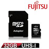 Fujitsu 富士通 32GB UHS-I MicroSDHC 記憶卡