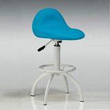 【空間生活】時尚吧檯椅(藍)