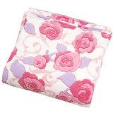 【玫瑰花園】超柔細多用途珊瑚絨毯(180x230cm)