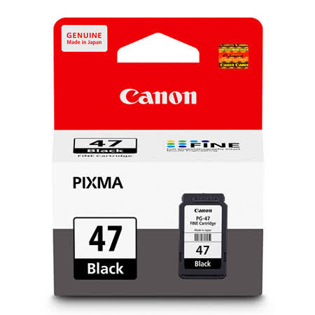 Canon PG-47 原廠黑色墨水匣