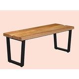 Lolita實木ㄇ型長椅500-14