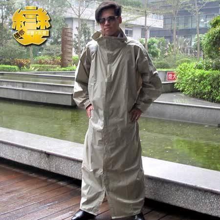 天德牌-隨你變專利三用連身雨衣-淺灰