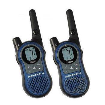 MOTOROLA SX-601無線電對講機(兩支裝超值雙槽充電版) .