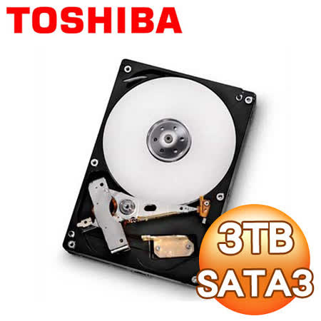 Toshiba東芝 3TB 7200轉 64M 3.5吋 SATA3硬碟(DT01ACA300)