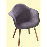 Rose布質扶手椅498-1(灰色)