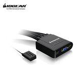 IOGEAR ATEN GCS24U 4埠 USB帶線式KVM多電腦切換器 支援Mac 隨插即用