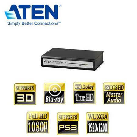 ATEN VS182  2埠 HDMI 影音分享器 1:2HDMI同步器鐵