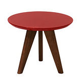 【空間生活】艾塔小茶几桌(紅)