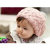 【PS Mall】毛絨球貝雷帽 菠蘿蛋糕貝雷帽針織帽   (B051)