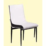 Jessica皮質餐椅497-2(白)