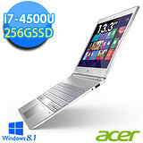Acer S7-392 13.3吋 i7-4500U 256G SSD Win8.1超輕薄Ultrabook(S7-392-74508G25tws03)【贈無線滑鼠+ 創見32G隨身碟】