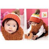 【PS Mall】韓版彩色聖誕帽/嬰兒帽/寶寶帽  (B099)