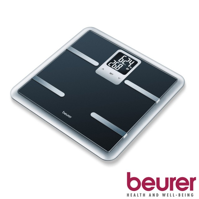 德國博依beurer-多功能體脂計(BG40)-時尚黑