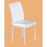 Bob皮質餐椅497-10(白)